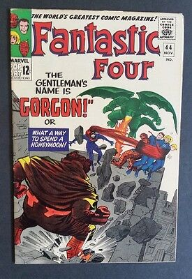 Fantastic Four #44 • 1St Gorgon • Gorgeous Vf/nm (9.0) Or Better • Abc 1 Month