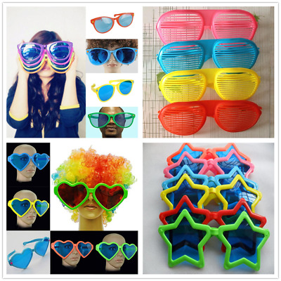 Extra Large Comedy Sunglasses Clown Joke Fancy Dress Party Glasses Oversized