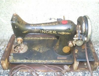 Antique SINGER Sewing Machine FOR PARTS OR REPAIR!!!