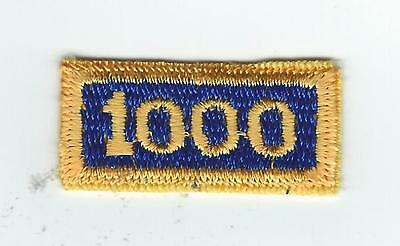 1970s-80s  MILITARY AIRLIFT COMMAND 1000 HOUR patch