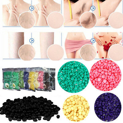 100g Painless Hair Removal No Strips Multi Depilatory Pearl Hard Wax Bead Hot
