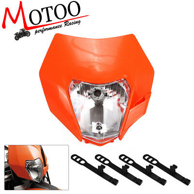 Headlight  Motorcycle Dirt Bike Motocross Universal Headlamp For KTM 2014-2016