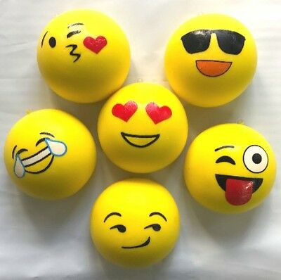 EMOJINAL STRESS BALL - Emoji Squeeze Tension Relief Toy 70mm-AU