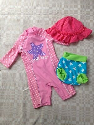 Swimming Bundle For Girl 6-9 Months