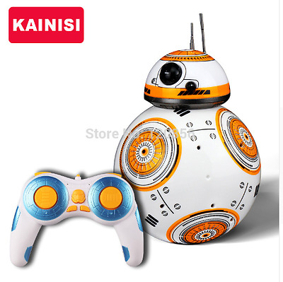 Star Wars RC 2.4G BB-8 Robot Remote Control With Sound Gift Toy