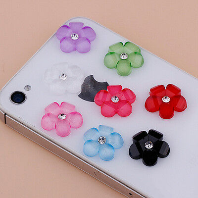 20/100x 10mm DIY Resin Flowers Flatback Scrapbooking for Phone/Wedding Crafts YA