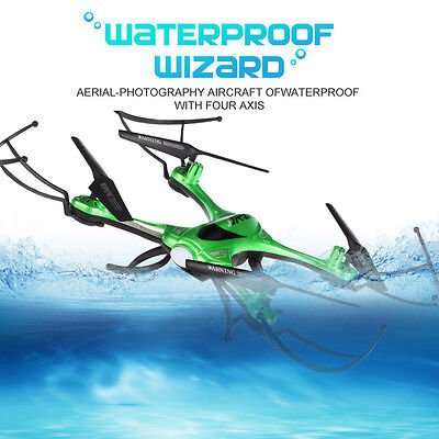 JJRC H31 RC Quadcopter 2.4G 6-Axis Drone Headless Mode Waterproof Green US-CA