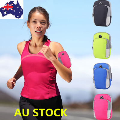 1-2PCS Arm Band Bag Sport Gym Running Exercise Jogging Armband  Pouch Case Phone