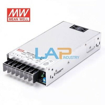 New Mean Well HRP-300-5 AC/DC Power Supply Single-OUT 5V 60A 300W