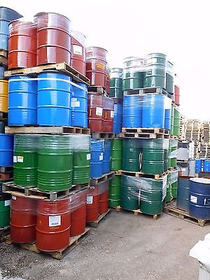 205 Litre 45 Gallon Recycled Steel Drum Barrel Open Clamp Top Container IBC Tank