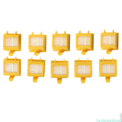 10 Pcs HEPA Filter Compatible For iRobot Roomba 700 Serie 760 761 770 780 790 M9