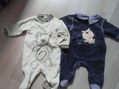 lot de 2 pyjamas 1 mois
