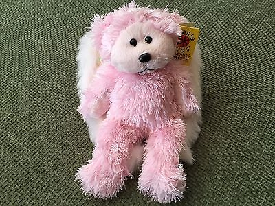 "Skansen Beanie Kids  "" CELESTE the ANGEL Bear BK exclusive """