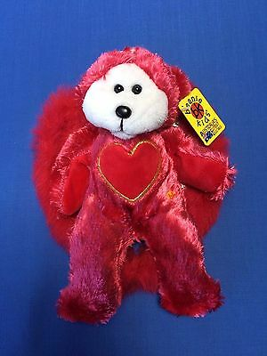 "Skansen Beanie Kids  "" CHERUB the LOVE ANGEL Bear  EXCLUSIVE """