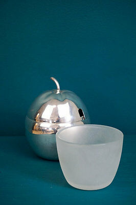 Silver Plated Apple Sauce Lidded Pot