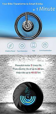 26 inch Intelligent Bicycle Wheel Permanent Magnet Brushless DC Motor App Ctrl