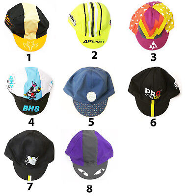 CYCLING BIKE CYCLE TEAM SUMMER HAT CAP - Vintage - Fixed Gear - Made in Italy