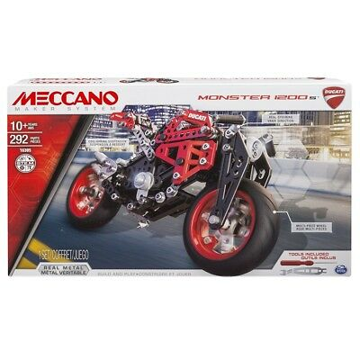 Meccano Ducati Monsters Building Set Brand New