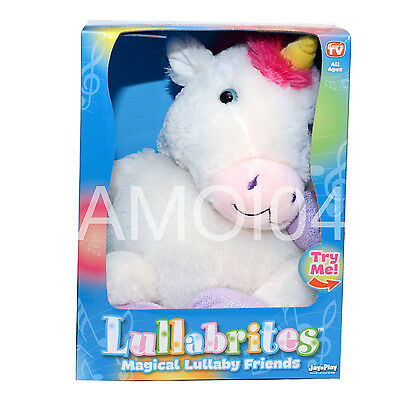 Lullabrites Magical Music Lullaby Friends Soothing Night Light Glows Bedtime New
