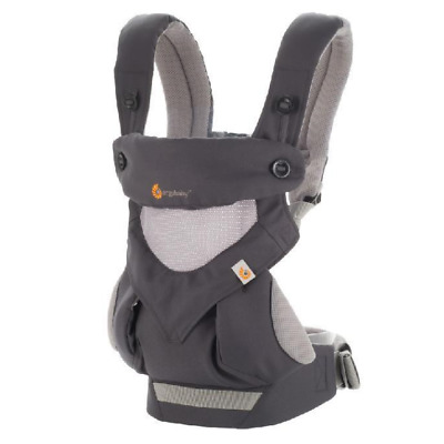 New Ergo 360 Baby Four Position carrier Dusty gray Baby Infant Safety Ergo
