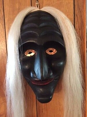 Mohawk Clan Mask - hand carved by Chief Jacob E Thomas