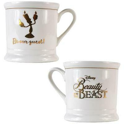 Beauty And The Beast - Be Our Guest Vintage Bone China Mug - New & Official