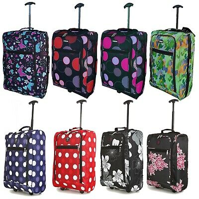50x40x20 Lightweight Hand Luggage Suitcase Bag for Ryanair & Easyjet Cabin Case
