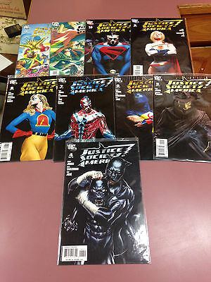 Justice Society of America Comic Book Lot of 14 Books DC