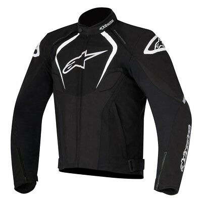 Alpinestars T-Jaws WP Black Motorbike Jacket