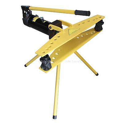 "KATSU 371274 Manual Hydraulic Steel Pipe Bender With Stand Dies 1/2"" to 2"" Inch"