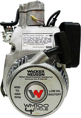 Wacker BS50-4, BS60-4 WM100 Engine with Purge/Primer Bulb - 0183035 - NEW-