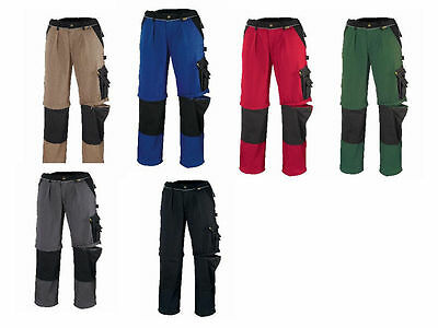 Mens Work Trousers Cargo Combat Knee Pad Pockets Work Shorts Work Pants Cordura