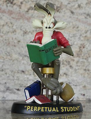 """Perpetual Student"" Wile E. Coyote Warner Bros. Looney Toons Figurine/Statue"