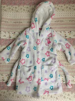 M&S Girls Peppa Pig Dressing Gown 12-18 Months