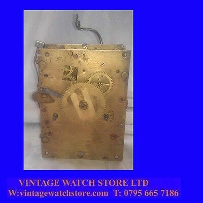 Rare King Charles II 8-Day Long Case Clock Movement 1670