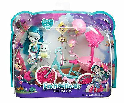 Enchantimals Built for Two Doll Set, Turtle & Tricycle - NEW & SEALED!