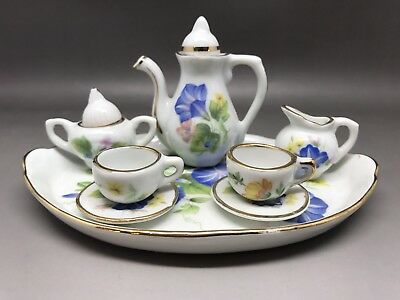Miniature Tea Set - Unknown Maker (Y39)