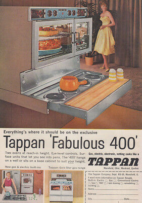1959 Tappan 400 Oven: Everythings Where It Should Be (29004) Print Ad