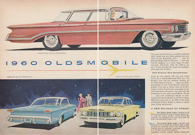 1960 Oldsmobile: Turn Your Eye for Beauty (29092) Print Ad