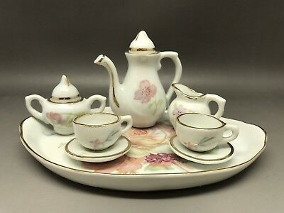 Miniature Tea Set - Made In Portugal (Y43)