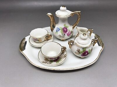 Miniature Tea Set - Unknown Maker (Y45)