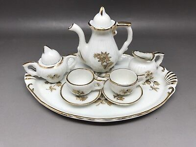 Miniature Tea Set - Made In Portugal (Y47)