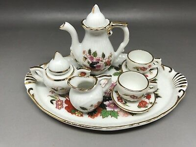 Miniature Tea Set - Made In Portugal (Y48)