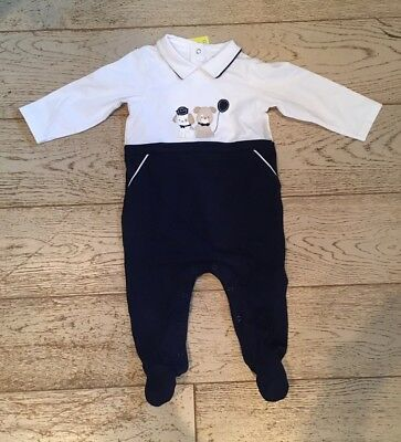 Mayoral Baby Grow Blue 4-6 Months New