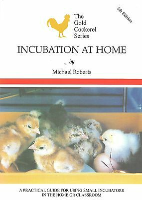 12 x Incubation at Home New Book Incubator Hatching Eggs Poultry GCBJ Trade Sale