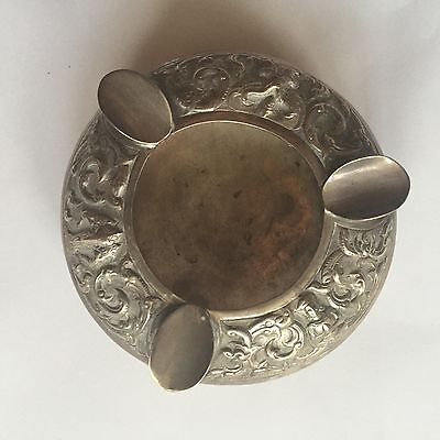 Vintage Siam Sterling Silver Ash tray