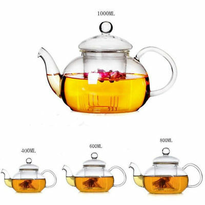Build Your Own Custom Tea Set. Glass Teapot with Infuser, Cups, Burner. CTS1
