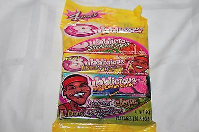 Lebron's Lightning Lemonade Bubblicious Chewing Gum, 2004 Lebron James Sealed