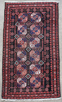 Tapis ancien rug oriental orient tribal ethnique Persan Perse Baluch 1920