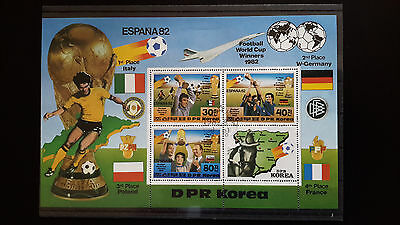 Korea 3 Briefmarken-Blocks 1982/1983 gestempelt